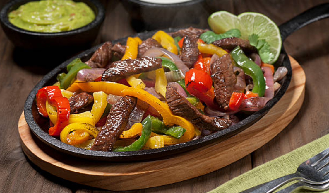 Steak, Chicken, Or Pork Fajitas
